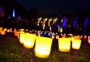 Karlsruhe: Lichterfest im Stadtgarten