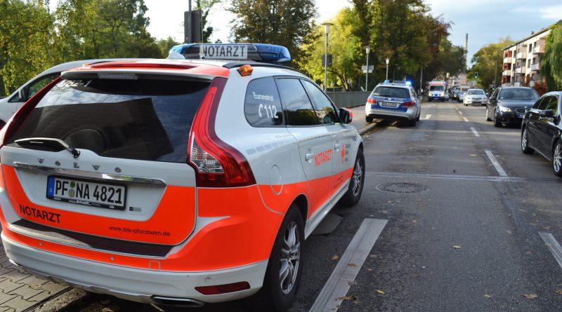 Pforzheim: Feuerwehr zieht Mann aus Nagold – 24.10.2016