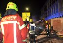 Niefern: Jugendliche spielen mit Feuerwerkskörper – 2.000 € Sachschaden nach Brand eines Schuttcontainers