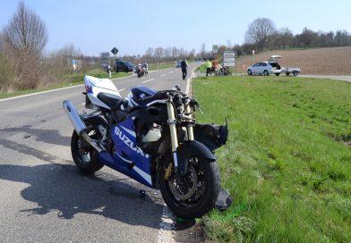 zw. Sprantal und Bretten – Zwei verletzte Motorradfahrer nach Unfall – 25.03.2017