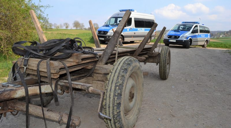 Remchingen: Von einer Pferdekutsche mitgeschleift – 66-jähriger stirbt an der Unfallstelle