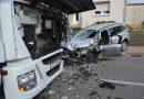 Bauschlott: Zu weit nach links gekommen – Fromtalzusammenstoß auf der Ortsdurchfahrt – 20.09.2017