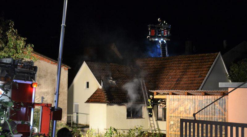 Eutingen: 100.000€ Sachschaden nach Wohnungsbrand – 01.10.2017