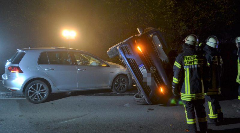 Kurioser Unfall zw. Ersinger Kreuz und Ersingen – 17.11.2017
