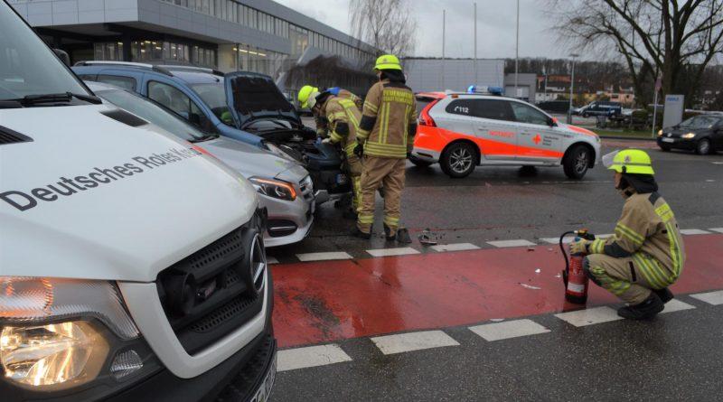 Mühlacker: Vorfahrt übersehen – Zusammenstoß fordert eine verletzte Person – 17.01.2018