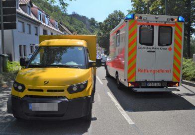 Vollsperrung der Enzstraße in Mühlacker nach Verkehrsunfall mit 5 Fahrzeugen